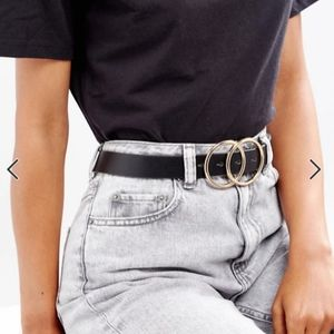 ASOS Vegan Leather Belt Medium